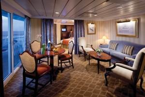 Club World Owner's Suite - Room #6088 Deck 6 Aft Portside Azamara Club Cruises