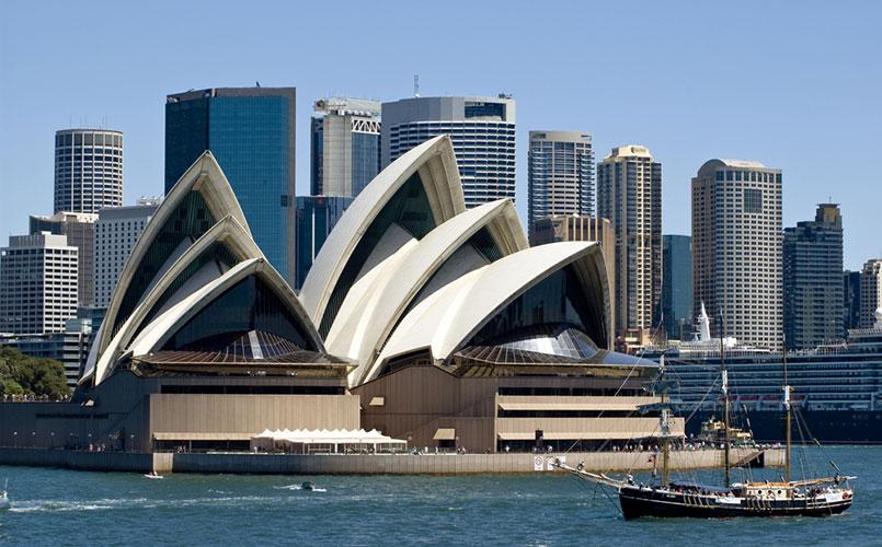 Legendarische reis naar Sydney