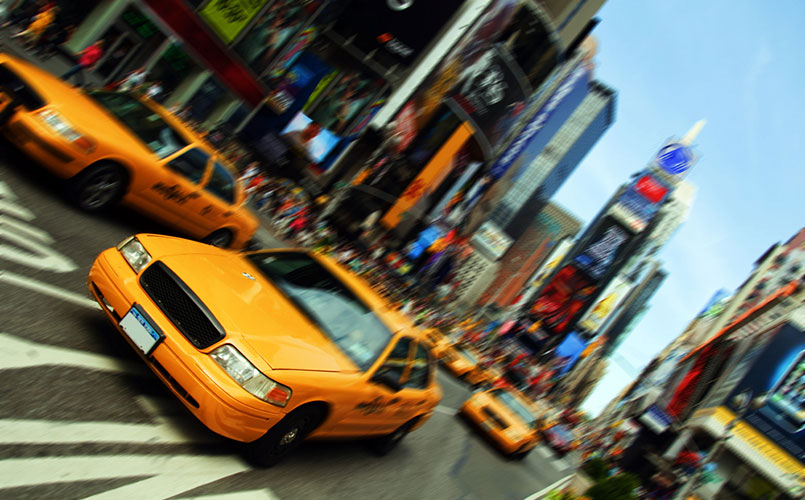 Legendarische reis naar New York
