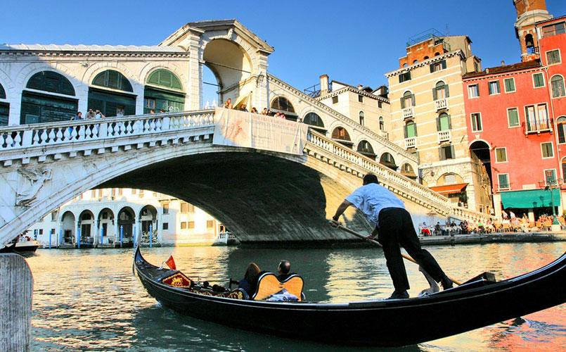 Legendarische reis naar Venetie