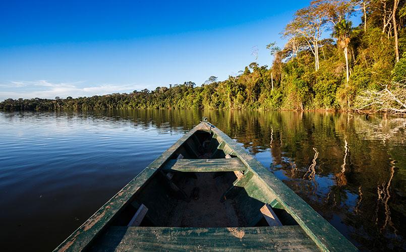 Legendarische reis naar de Amazone
