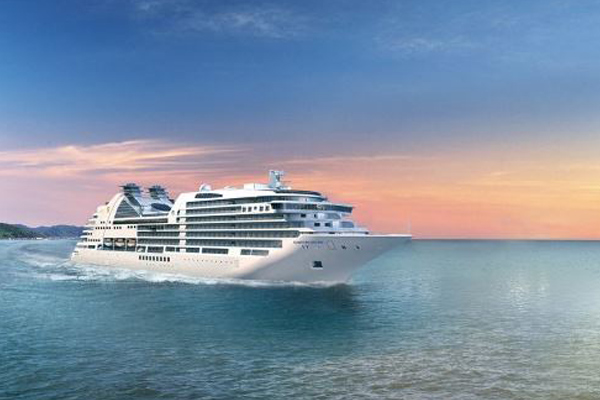 De nieuwe Seabourn Ovation