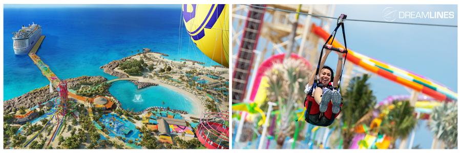 Ballonvaart & Zipline - Coco Cay