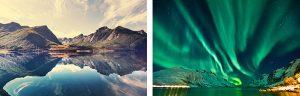 Noorse Fjorden en Noorderlicht