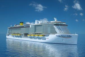 Het nieuwste schip van Costa Cruises - Costa Smeralda
